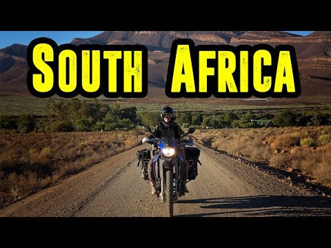 SOUTH AFRICA ! ADVENTURE RIDING of a LIFETIME