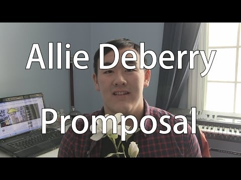 Allie Deberry Promposal Vlog! 2014