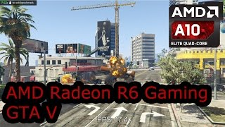 AMD Radeon R6 Gaming - Grand Theft Auto V - Carrizo A10-8700P A8-8600P