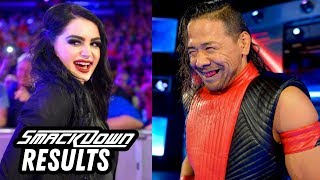 HUGE Smackdown After Mania! WWE Smackdown Review & Results 4/10/18 Going in Raw Podcast