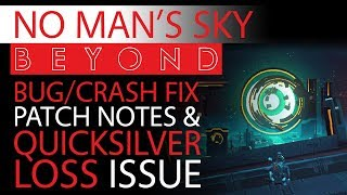 No Man's Sky Beyond Bug/Crash Fix Patch Notes & Issues You NEED to Be Aware of | Update 2.06 A-E