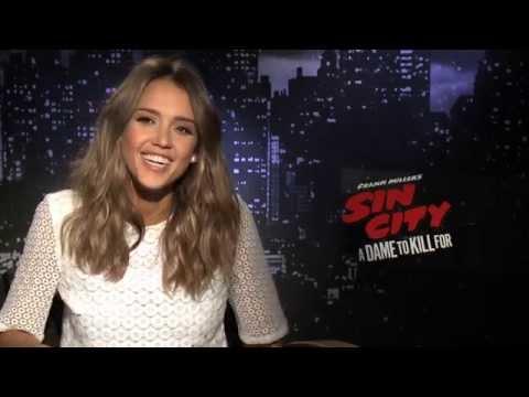 SIN CITY 2 Interviews: Jessica Alba and Josh Brolin