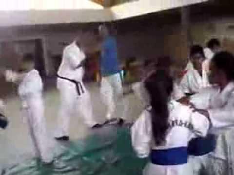 Karate 4 Kidz Dojo Training