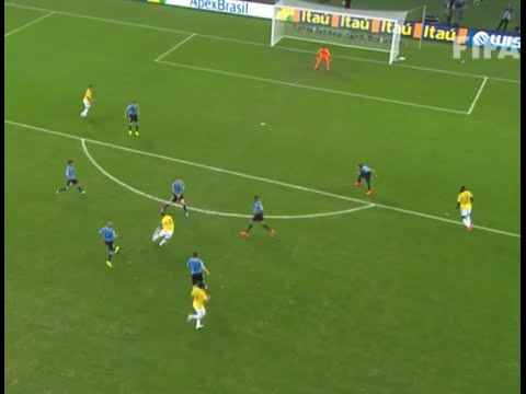 James Rodríguez Stunning Volley vs Uruguay  Brazil 2014 World Cup