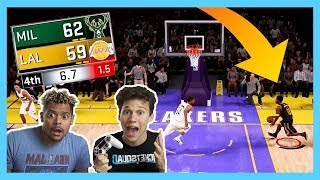 CRAZIEST BASKETBALL ENDING EVER!! ZACK TTG and JESSER v. THE WORLD!! 2HYPE x NBA 2k18