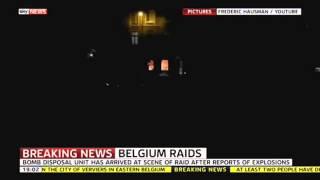 Gunfire In Belgium Anti-Terror Raids- Drive Muzzies out of Europe