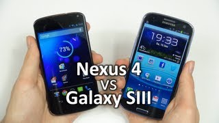 Google Nexus 4 vs. Samsung Galaxy S3 | SwagTab