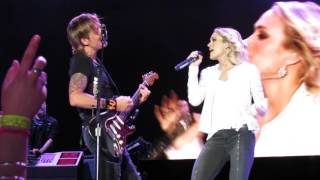 Download Lagu KEITH URBAN CARRIE UNDERWOOD THE FIGHTER LIVE IN WELLINGTON 3/12/2016 Gratis STAFABAND