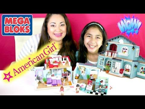 American Girl Mega Bloks Grace 2 in 1 Home and Café B2cutecupcakes