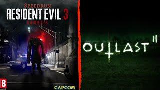 Outlast 2 y Residente Evil 3 - Speedrun Any% - dificultad Dificil - En Español