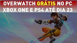 Overwatch GRÁTIS para PC, XBOX ONE e PS4 até o dia 23 de Abril