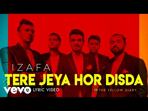 The Yellow Diary - Tere Jeya Hor Disda (Lyric Video)