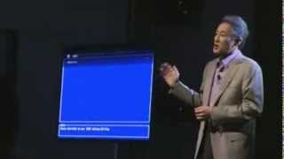 Sony CES 2013 Press Conference ; Kazuo Hirai Oled TV Funny Demo Fail