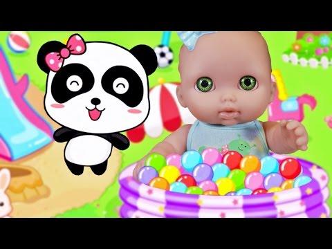 Куклы Пупсик Девочка Играет В Игру как мультфильм Детский Сад Малышей Игры для детей Зырики ТВ
