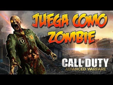 CoD: AW - Juega como Zombie en Multijugador! (Muy Rápido)