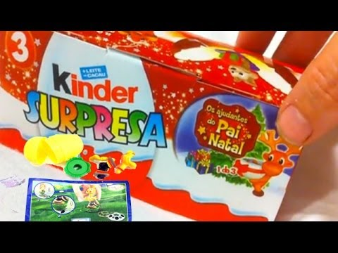 6 Amazing Kinder Surprise Eggs Unwrapping Review Chocolate Easter Toys