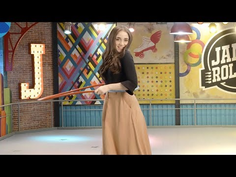 Hula Hoop Challenge di Disney Channel - Carolina Kopelioff per il team di Soy Luna