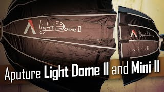Aputure Light Dome II & Light Dome Mini II Soft Boxes