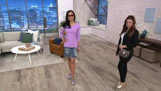 Aerosoles Strappy Leather Wedge Sandals- Carnegie on QVC