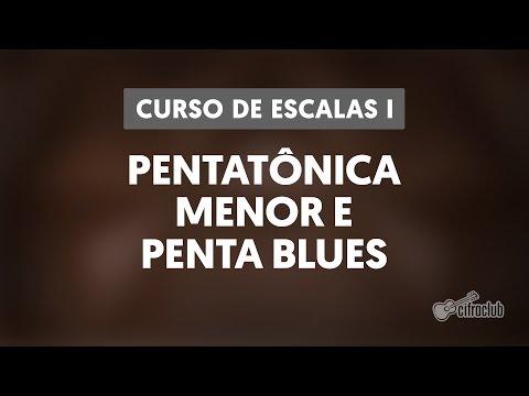 Curso de Escalas I - Pentatônica Menor e Penta blues