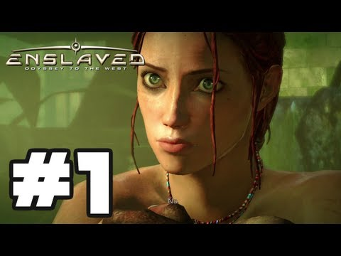 Enslaved Odyssey to the West  Gameplay Walkthrough Part 1  Chapter 1: The Escape HD Xbox 360 PS3