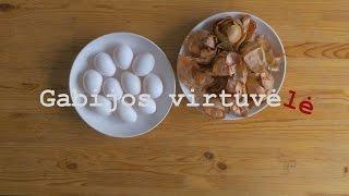 Gabijos Virtuvėlė - Velykinių kiaušinių marginimas