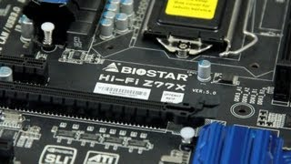 World Exclusive Biostar Z77X Puro Hi-Fi Series Motherboard First Look Overview