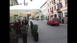 Cyckling race in Poland road safety Polish style funny