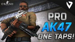CS:GO - Pro AK47 ONE TAPS (Fragmovie)