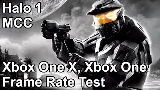 Halo Combat Evolved Anniversary Xbox One X vs Xbox One Frame Rate Comparison (MCC)