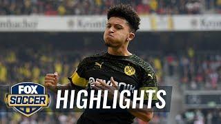 VfB Stuttgart vs. Borussia Dortmund   2018-19 Bundesliga Highlights