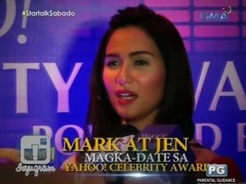 Startalk: Mark at Jen magka-date sa Yahoo! Celebrity Award