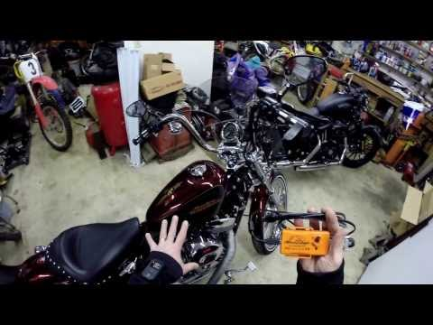 Iron 883 Gets Stage-1 ECM Flash! - I Loose a Finger!    ShopTalk