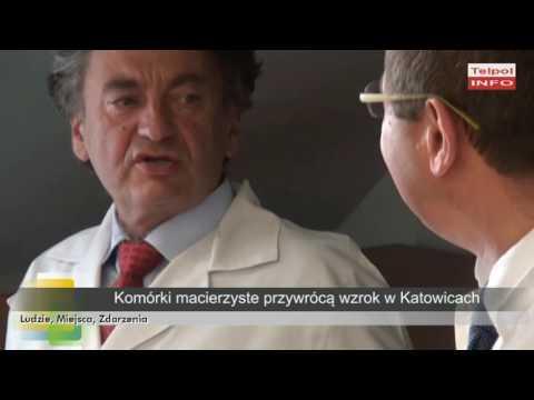Komórki Macierzyste Przywrócą Wzrok W Katowicach