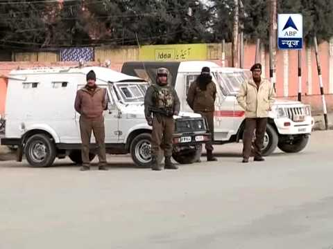 Security tightened in Sri Nagar