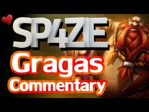 ♥ LoL Commentary - Gragas