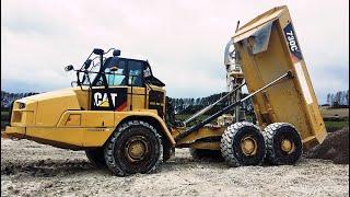 Cat 730C #Articulated #Dump Truck #Walkaround