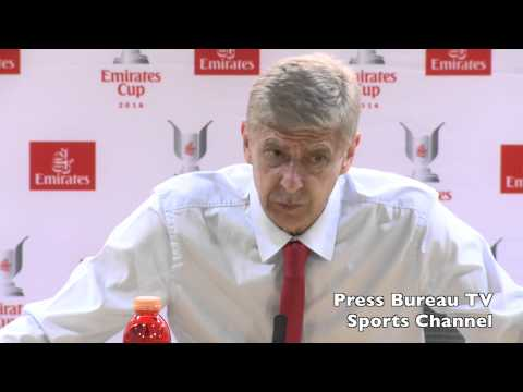 Arsene Wenger reaction - Emirates Cup 2014
