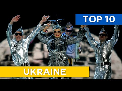 TOP 10 | Ukraine in Eurovision (2007 - 2017)