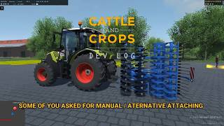Cattle and Crops:  Manual Attaching