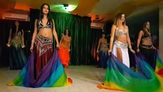 Dança do ventre - Ramalho's festa árabe 2016