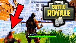 I'VE NEVER SEEN THIS IN FORTNITE BATTLE ROYALE.......