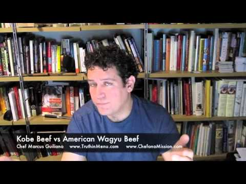 Japanese Kobe Beef vs American Kobe info