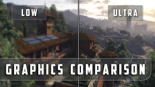 Grand Theft Auto 5 - Low vs. Ultra Graphics Comparison [FullHD][60fps]