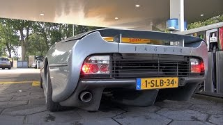 Jaguar XJ220 - Start up + Revs!