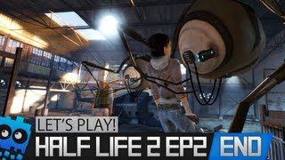 Let's Play Half Life 2 Episode 2 - Part 13 - The End...