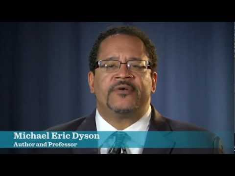 Michael Eric Dyson is in for President Obama