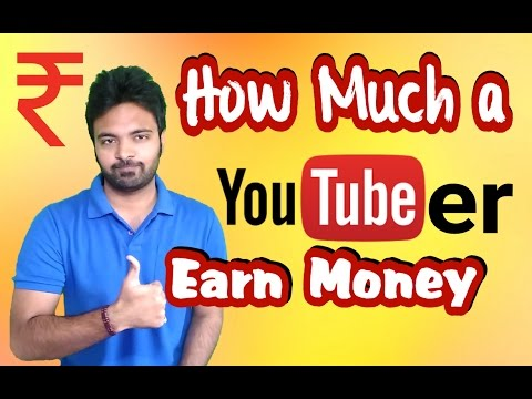 How much a youtuber earn money from youtube in reality Social blade  Hindi