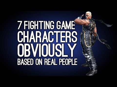 7 Fighting Game Characters Super Obviously Based on Real People