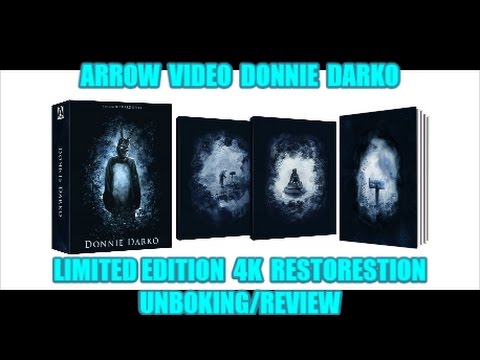 Arrow Video Donnie Darko Limited Edition 15th Anniversary Unboxing.Review